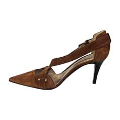 Heeled Sandals SERGIO ROSSI Brown
