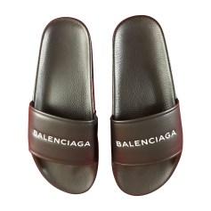 Slippers BALENCIAGA Black
