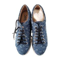Mokassins KARL LAGERFELD Blau, marineblau, türkisblau