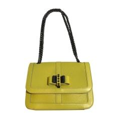 Leather Handbag CHRISTIAN LOUBOUTIN Yellow
