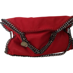 Non-Leather Handbag STELLA MCCARTNEY Falabella Red, burgundy