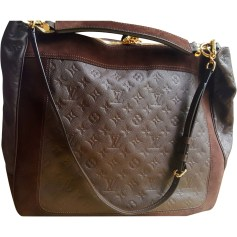 Borsetta in pelle LOUIS VUITTON Marrone