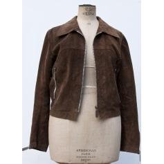 Vestes Daim Femme amp; En Vintage Manteaux nUw50aqAAx