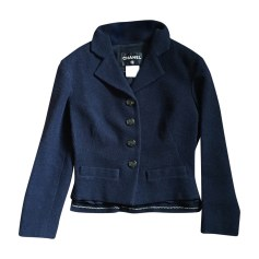 Blazer CHANEL Blue, navy, turquoise
