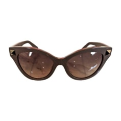 Sunglasses VALENTINO Brown