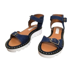 Flat Sandals STELLA MCCARTNEY Blue, navy, turquoise