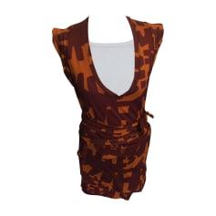 Mini-Kleid ISABEL MARANT Rot, bordeauxrot