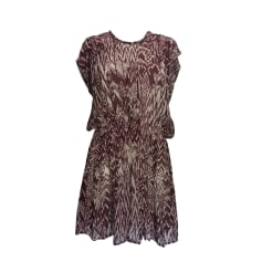 Mini-Kleid IRO Rot, bordeauxrot