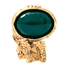 Ring YVES SAINT LAURENT Golden, bronze, copper