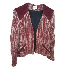 Jacket SÉZANE Red, burgundy