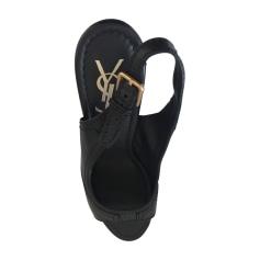 Sandales à talons YVES SAINT LAURENT Noir
