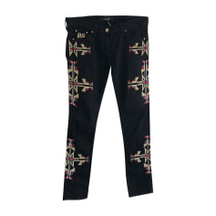 Skinny Pants, Cigarette Pants ISABEL MARANT Black