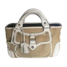Non-Leather Handbag CÉLINE Boogie Beige, camel