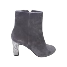 High Heel Ankle Boots MELLOW YELLOW Gray, charcoal