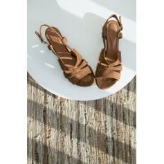 Sandales plates  BALZAC PARIS Cognac