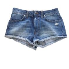Short en jean BA&SH Bleu, bleu marine, bleu turquoise