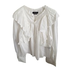 Blouse ISABEL MARANT White, off-white, ecru