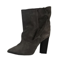 High Heel Ankle Boots IRO Gray, charcoal