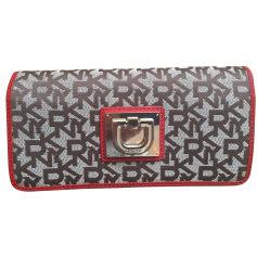 Wallet DKNY Beige, camel