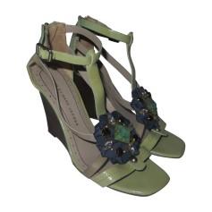 Sandales compensées MARC BY MARC JACOBS Vert