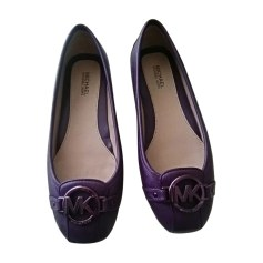 Ballerines MICHAEL KORS prune