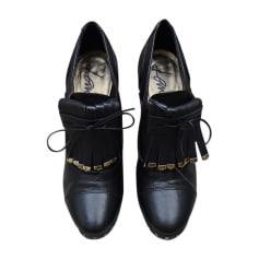 Lace Up Shoes LANVIN Black