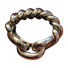 Armband HERMÈS Silberfarben, stahlfarben