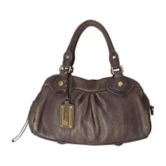 Leather Handbag MARC BY MARC JACOBS taupe