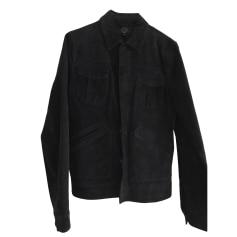 Blouson en cuir SUIT Noir