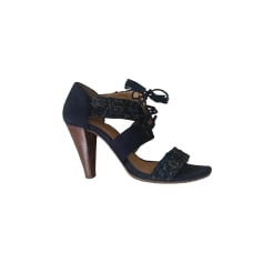 Heeled Sandals SÉZANE Blue, navy, turquoise