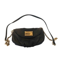 Leather Shoulder Bag MARC BY MARC JACOBS Gray, charcoal