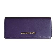 Wallet MICHAEL KORS Purple, mauve, lavender
