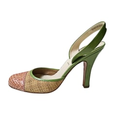Pumps, Heels PRADA Green