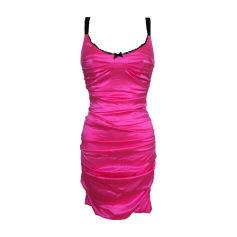 Midi Dress DOLCE & GABBANA Pink, fuchsia, light pink