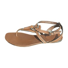 Flat Sandals GUCCI Brown
