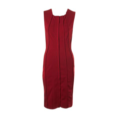 Midi Dress DIANE VON FURSTENBERG Red, burgundy