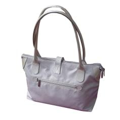 Stoffhandtasche TEXIER Weiß, elfenbeinfarben