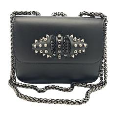 Leather Shoulder Bag CHRISTIAN LOUBOUTIN Black