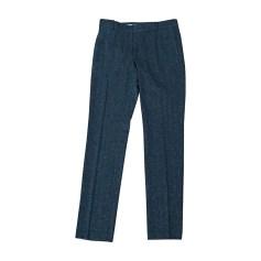 Pantalone slim PAUL & JOE Blu, blu navy, turchese