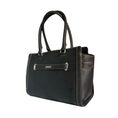 Leather Handbag GUESS Black
