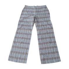 Straight Leg Pants SONIA RYKIEL Multicolor