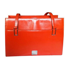 Lederhandtasche CÉLINE Orange