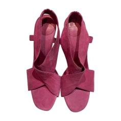 Peep-Toe Pumps DIANE VON FURSTENBERG Pink, fuchsia, light pink