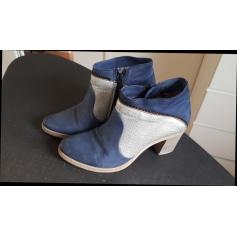 Bottines & low boots à talons MJUS Bleu, bleu marine, bleu turquoise
