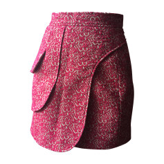 Mini Skirt DIOR Pink, fuchsia, light pink