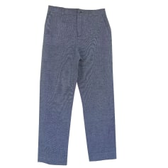 Straight Leg Pants AGNÈS B Gray, charcoal