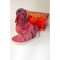 Sneakers KICKERS Pink, fuchsia, light pink