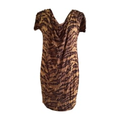 Mini Dress DIANE VON FURSTENBERG Animal prints