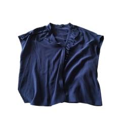Blouse TARA JARMON Blue, navy, turquoise