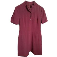 Robe courte KAREN MILLEN Rouge, bordeaux